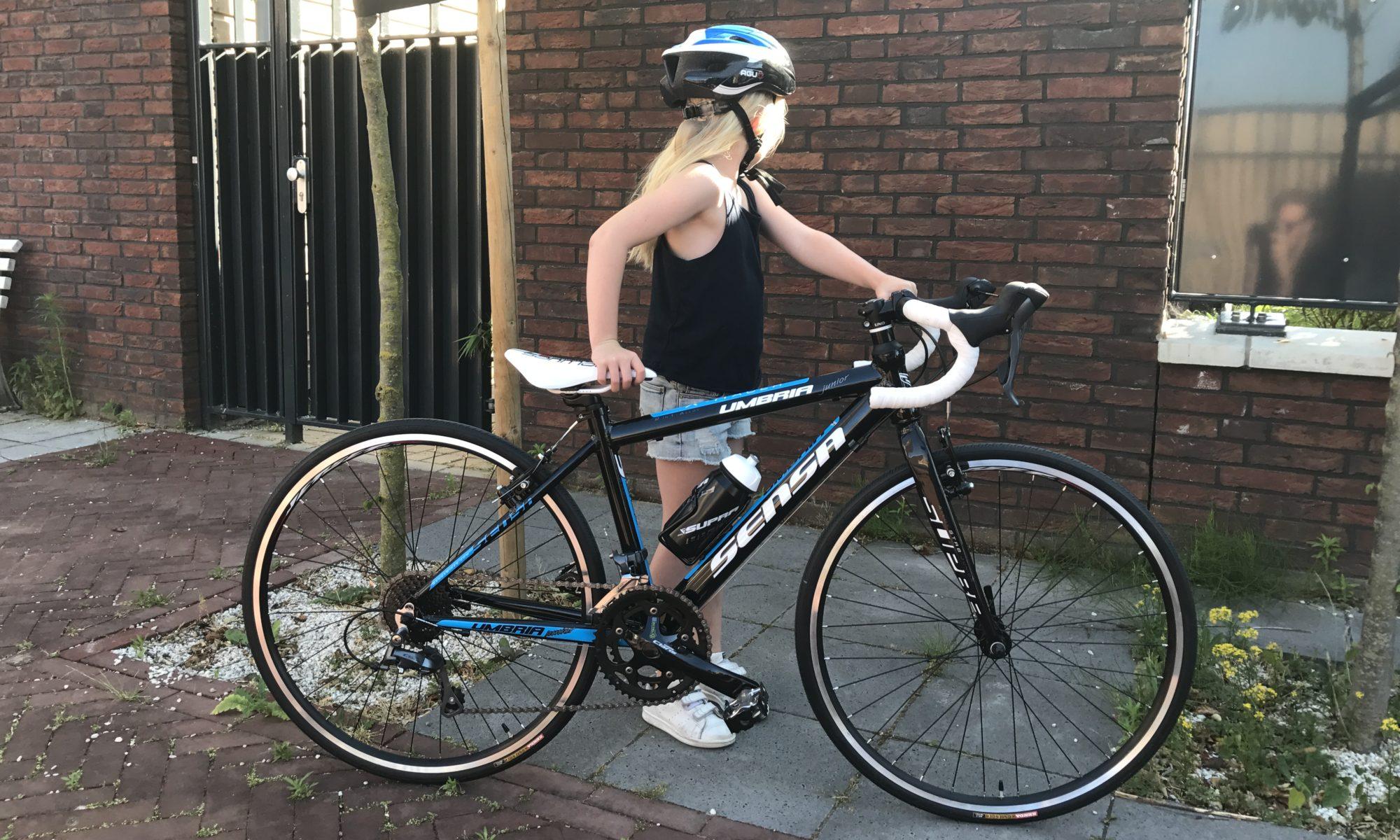 De eerste keer fietsen met je zoon of dochter is echt onbeschrijfelijk mooi